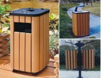 wood plstic composites waste bin