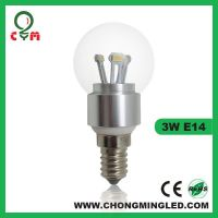 CE e12/e14 3w/4w/5w led candle light ,360 led candle lamp