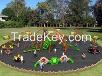 Amusement park climbing sets