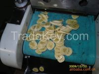 Professional fruit cutter banana cutter ,banana slicing machine
