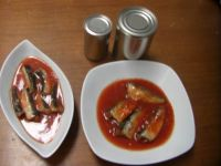 canned sardines and tuna skipjack