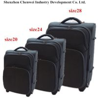 New design size 20 24 28 upright travel trolley luggage bag