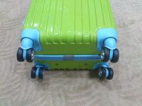 Colorful Superior quality hard shell ABS+PC rolling luggage