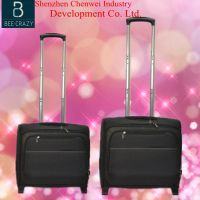 Top selling promotional business airline trolley case&bag