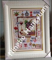 Cross stitch picture for house