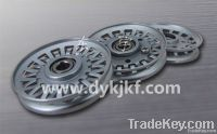 Draw texturing machine friction disc