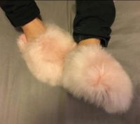 Alpaca Slippers - Fur slipper