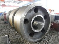 cast support roller for cement mill