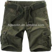 High quality summer army green men work cargo shorts