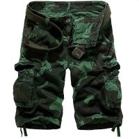 2014 summer sexy military camouflage cotton cargo shorts pants for hipster men