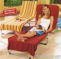 Beach Chair Towel With Reactive Printing