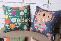 Children Cartoon Pillow----a cherish gift for your children Mineral Nano Crystal Cotton & Linen Pillow