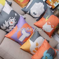 Impression Person!! American style comfortable bedding painting pillow!