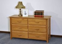 6 Drawers Wide Cabinet