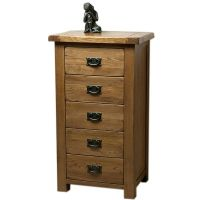 5 Drawers High Cabinet