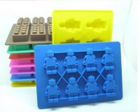 New Design Custom Silicone Ice Cube Tray with Different Designs