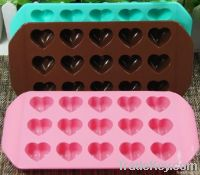Heart Shaped Chocolate Mold