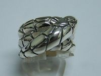 sterling silver designer inspired ring