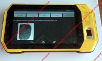Tablet with fingerprint scanner with NFC,barcode scanner