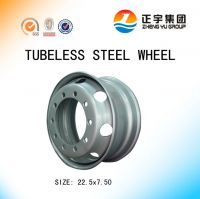 22.5x7.50 tubeless wheels