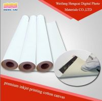 Waterproof Inkjet Matte Cotton Canvas