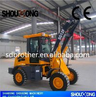 SHOUGONG ZL12F WHEEL LOADER WITH CE, 1200KG