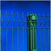 Galvanized /PVC Coated Welded Wire Mesh Fence (ISO 9001)