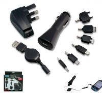 3 In 1 Usb Charger Set (For Samsung S4 & HTC)