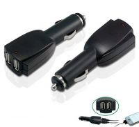 Dual USB Car Charger For Smartphone