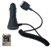 Car Charger with Cable (For Iphone 5)