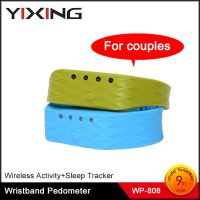 Accelerometer Bluetooth wrist band step counter
