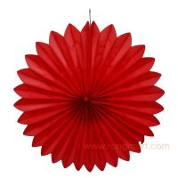 Dia. 21CM, decorative paper fan, party decorations, wedding decorative paper fan