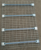 Steel Pallet Racks Wire Mesh Decking