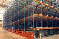 Carton Flow-through racking heavy duty racking system