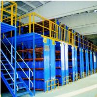 Warehouse Storage Steel Mezzanine Rack Floor System
