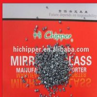 Crushed  decorative clear Glass Mirror aggregate