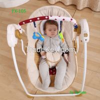 Wholesale electric baby swing chair muscial baby rocker rc baby bouncer canopy baby cradle