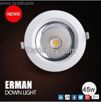 Matte White Dimmable Downlight in Cool White