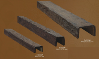 PU Simulated Wooden Beam