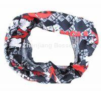 Wholesale elastic polyester neck tube bandana scarf