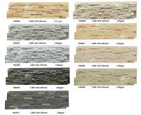 Interior and Exterior Polyurethane Faux Stacked Rock Stone Siding Panel Factory