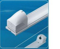 Electronic fluorescent lamp fixtures
