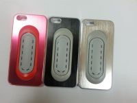 Hot selling metal kickstand case for iphone 5