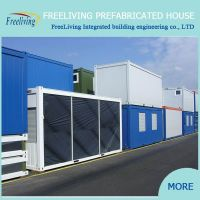 Hight Quality Prefab Living Container House From Freeliving