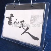 7 inches Acrylic calendar with high quality for 2005 calendars