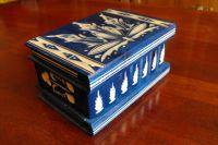 Hungarian Secret Box - Blue