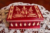 Hungarian Secret Box - Red