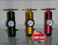 Click-style Medical Aluminum Oxygen Regulator