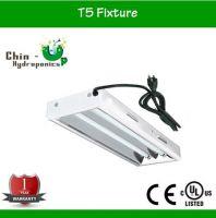 Grow light T5 fixture for hydroponics