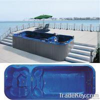 Outdoor Arcylic Bathtub Swim Whirlpool SPA Hot Tub